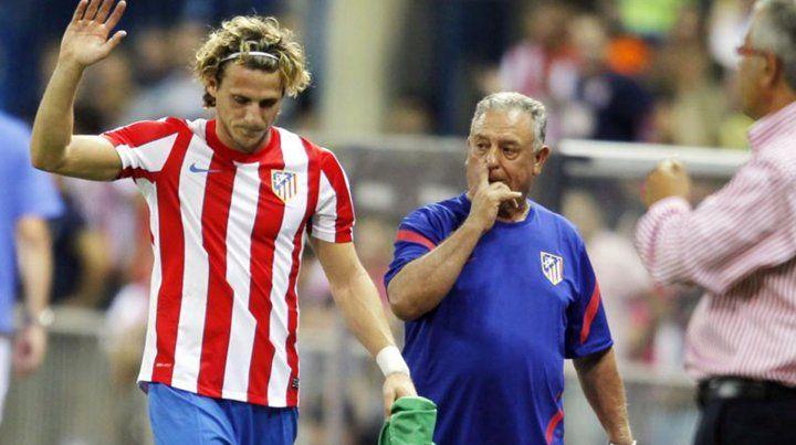 Forlán anunció su retiro del fútbol