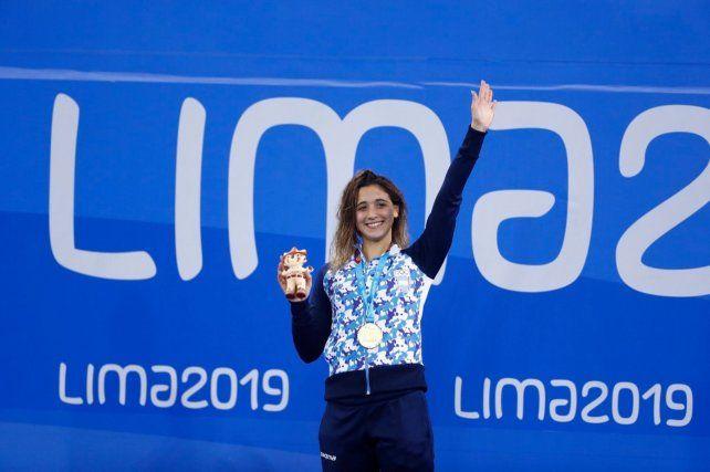 Grassi finalizó cuarto en 100 metros mariposa