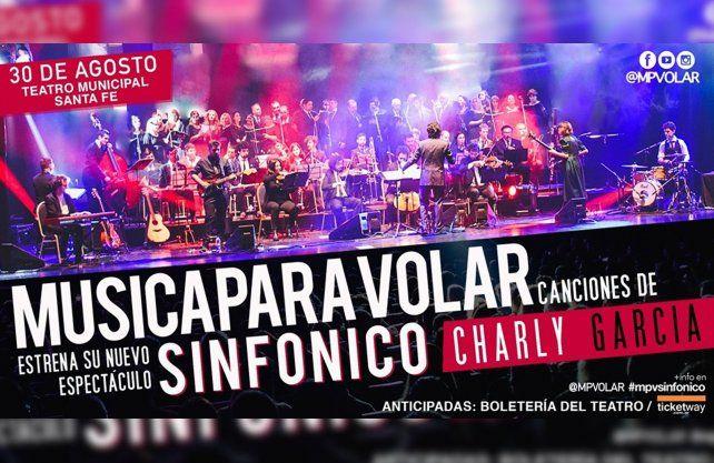 Música para Volar lanza su nuevo espectáculo sinfónico dedicado a la obra de Charly García