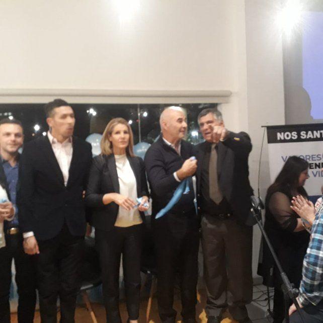 Fuerte apoyo de Rossettón a la candidatura de Juan José Gómez Centurión