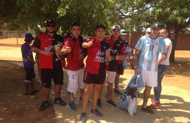 Los hinchas de Colón vuelven a acompañar en la Sudamericana
