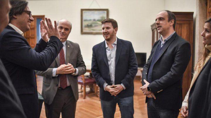 Corral y Garavano realizaron actividades en las ciudades de Santa Fe y Rosario.