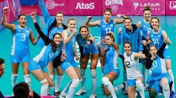 con la santafesina victoria mayer, argentina dio el golpe ante brasil en voley