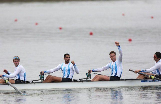 Argentina consiguió dos doradas en remo