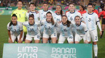 el futbol femenino fue subcampeon en lima