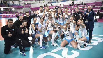 la santafesina victoria mayer, bronce con las panteras en lima 2019