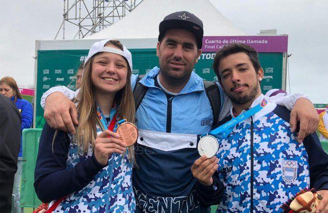 Argentina hizo historia y con el BMX llegó a las 101 medallas en Lima 2019