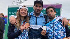 argentina hizo historia y con el bmx llego a las 101 medallas en lima 2019