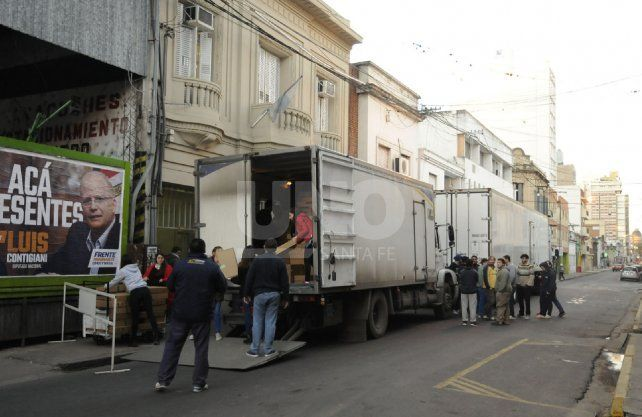 Las urnas de la provincia llegarán a la sede de la Secretaría Electoral Federal