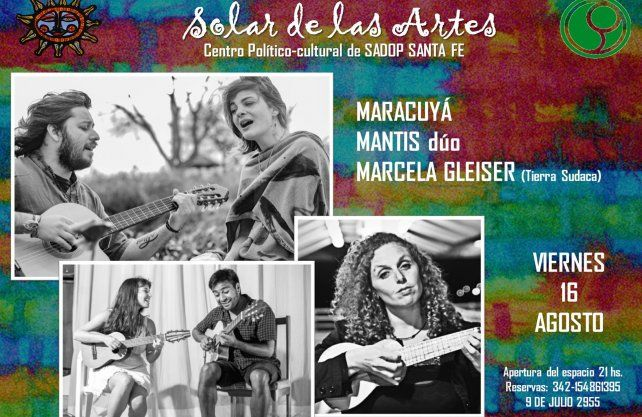 Maracuyá dúo+ Mantis dúo+ Marcela gleiser