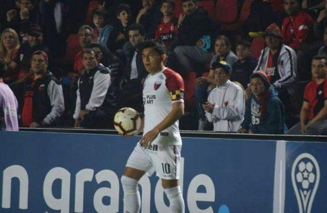 Pulga Rodríguez, el mejor asistidor de la actual Copa Sudamericana