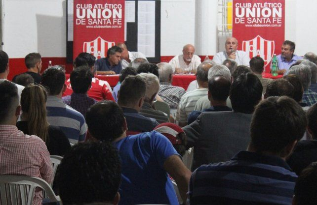 Unión oficializó el llamado a la Asamblea Extraordinaria
