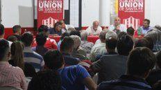 union oficializo el llamado a la asamblea extraordinaria
