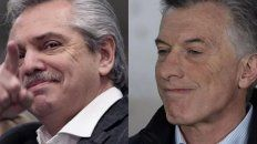 Primer contacto. Fernández y Macri tuvieron una charla telefónica.