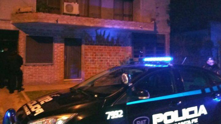 La vivienda en dódne ocurrió el triple crimen.