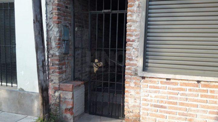 La vivienda en dónde sucedieron los crímenes.