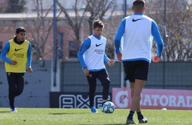 Soldano debutará como titular en Boca frente a Aldosivi