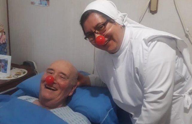 Imágenes del instituto de Rosario dónde lleva adelante su recuperación.