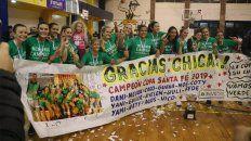 ben hur se consagro campeon de la copa santa fe femenina de basquet