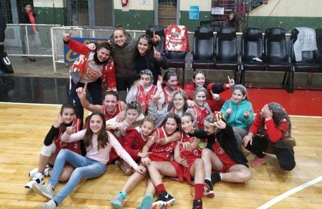 Santa Rosa U13 y Alma U15, los campeones en el Dos Orillas Femenino
