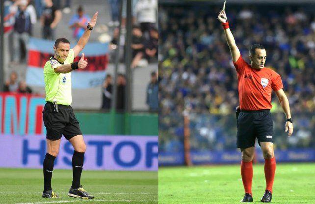 Los árbitros que estarán en los partidos de Colón y Unión