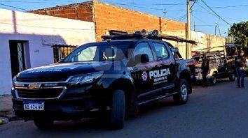 El hombre fue detenido en Azopardo y Mendoza.