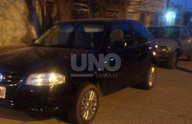 El vehículo secuestrado había sido denunciado como robado en la ciudad de Rosario.
