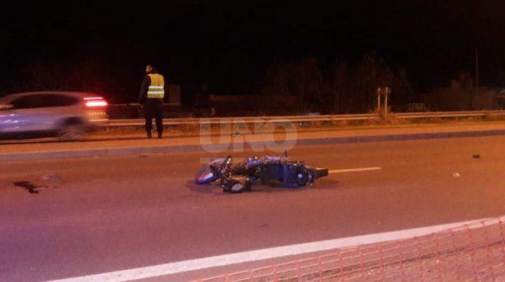El accidente sucedió en las primeras horas de este domingo.