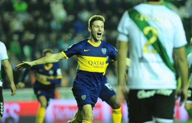 Soldano le dio el triunfo y marcó un récord para la historia de Boca