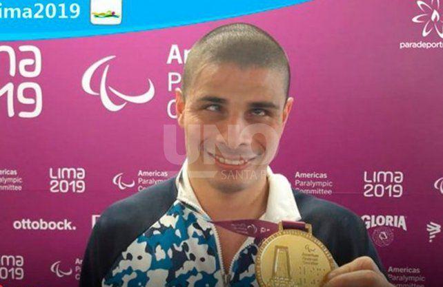 Sergio Zayas se subió a lo más alto del podio