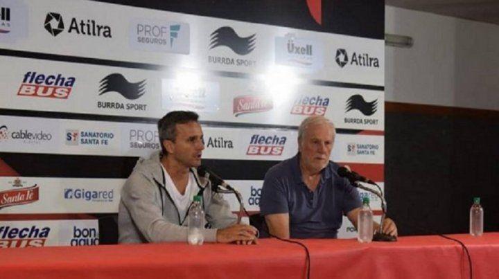 José Vignatti le bajó el pulgar a Pablo Lavallén