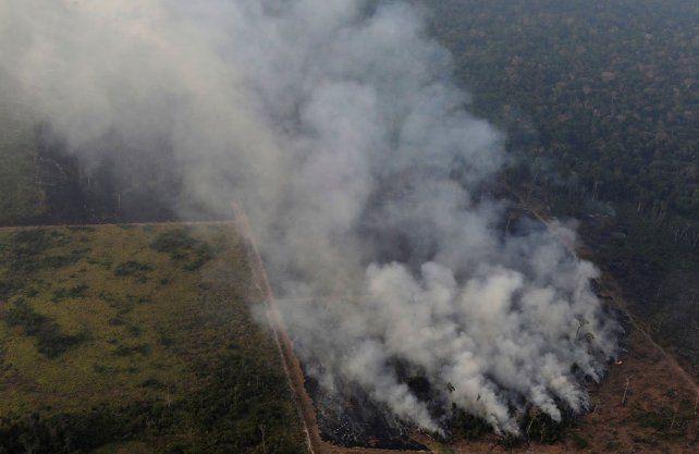 El humo de los incendios en el Amazonas podría llegar a la ciudad