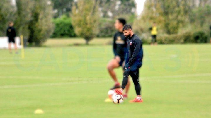 Gabriel Esparza, listo para volver a jugar