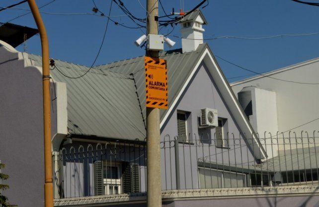 Alarmas comunitarias: hay instaladas 140 y se expanden en toda la ciudad
