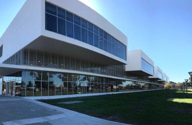 El nuevo hospital Iturraspe.