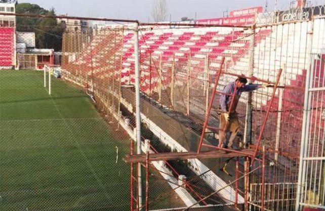 Unión mostró las nuevas obras en el 15 de Abril