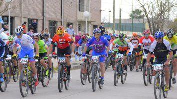 la fiesta del rural bike paso por progreso con gran suceso