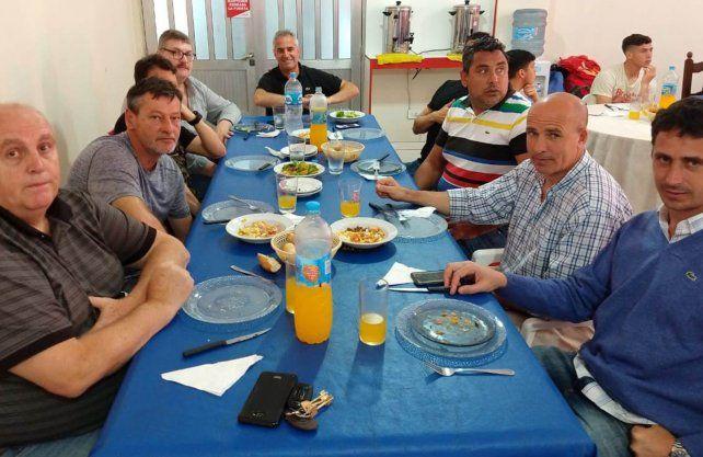 Un almuerzo distinto en Unión en la previa del duelo ante San Lorenzo