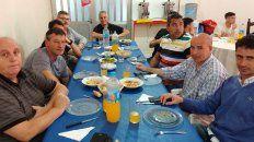 un almuerzo distinto en union en la previa del duelo ante san lorenzo