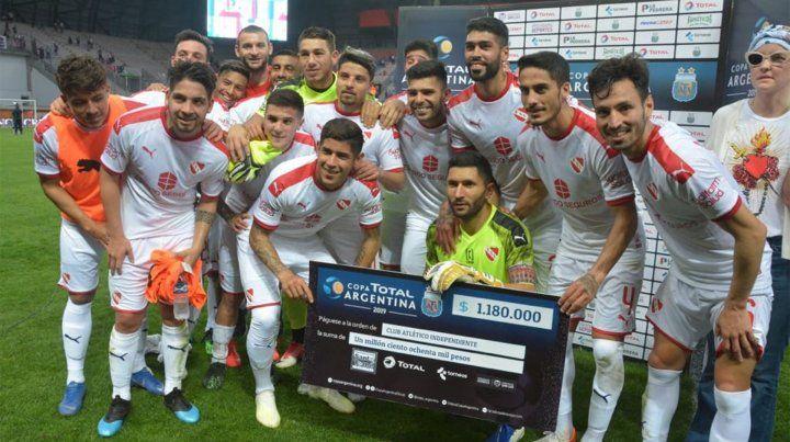Independiente venció a Patronato y está en los 8º de final de la Copa Argentina