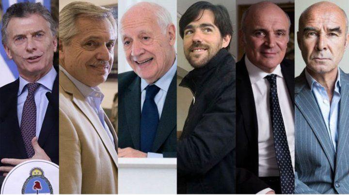 Los seis candidatos que estarán debatiendo en Santa Fe