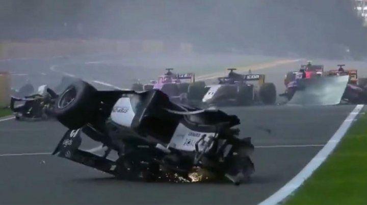 VIDEO: Brutal accidente en la Fórmula 2