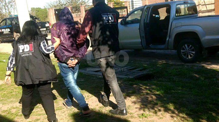 El hombre detenido en la jornada del domingo