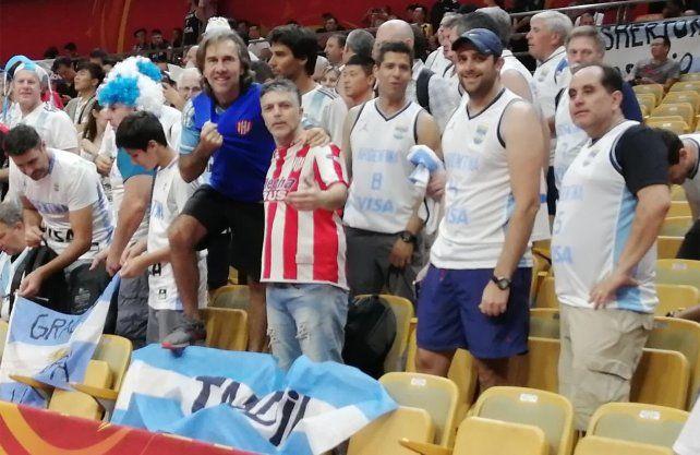 La camiseta de Unión se hizo notar en el Mundial de básquet en China