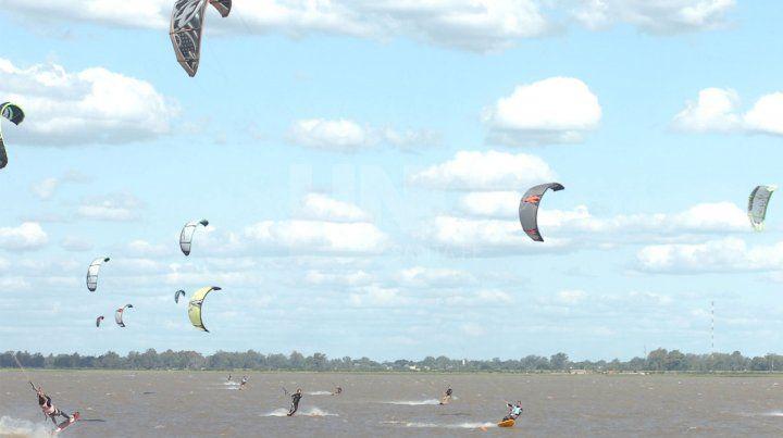 Kitesurf en Santa Fe.