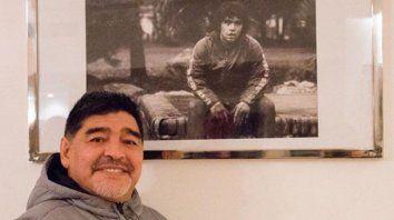 maradona: seria un honor dirigir en mi pais