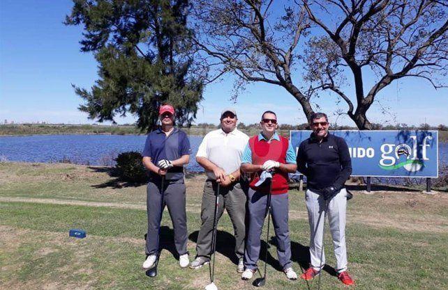 Mucha acción en el golf santafesino