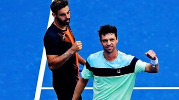 zeballos se metio en las semifinales del dobles en el us open