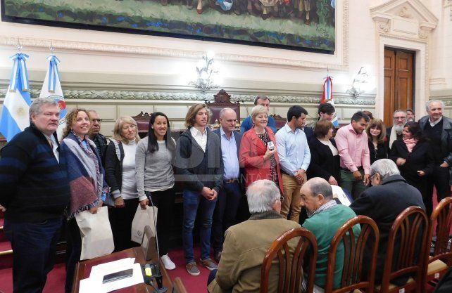 Deportistas santafesinos fueron reconocidos