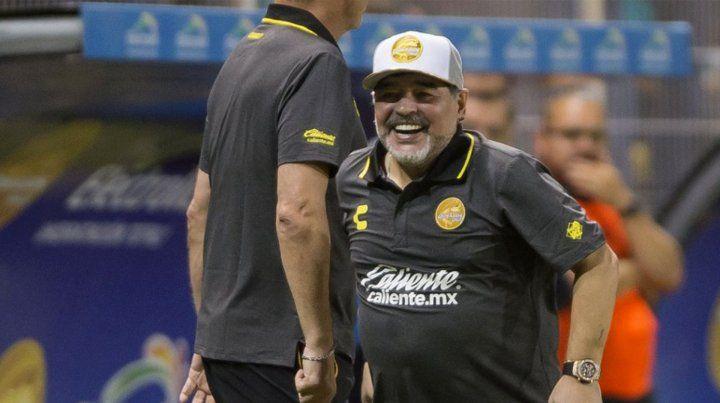 Lo de Maradona a Gimnasia (LP) está en un 80%